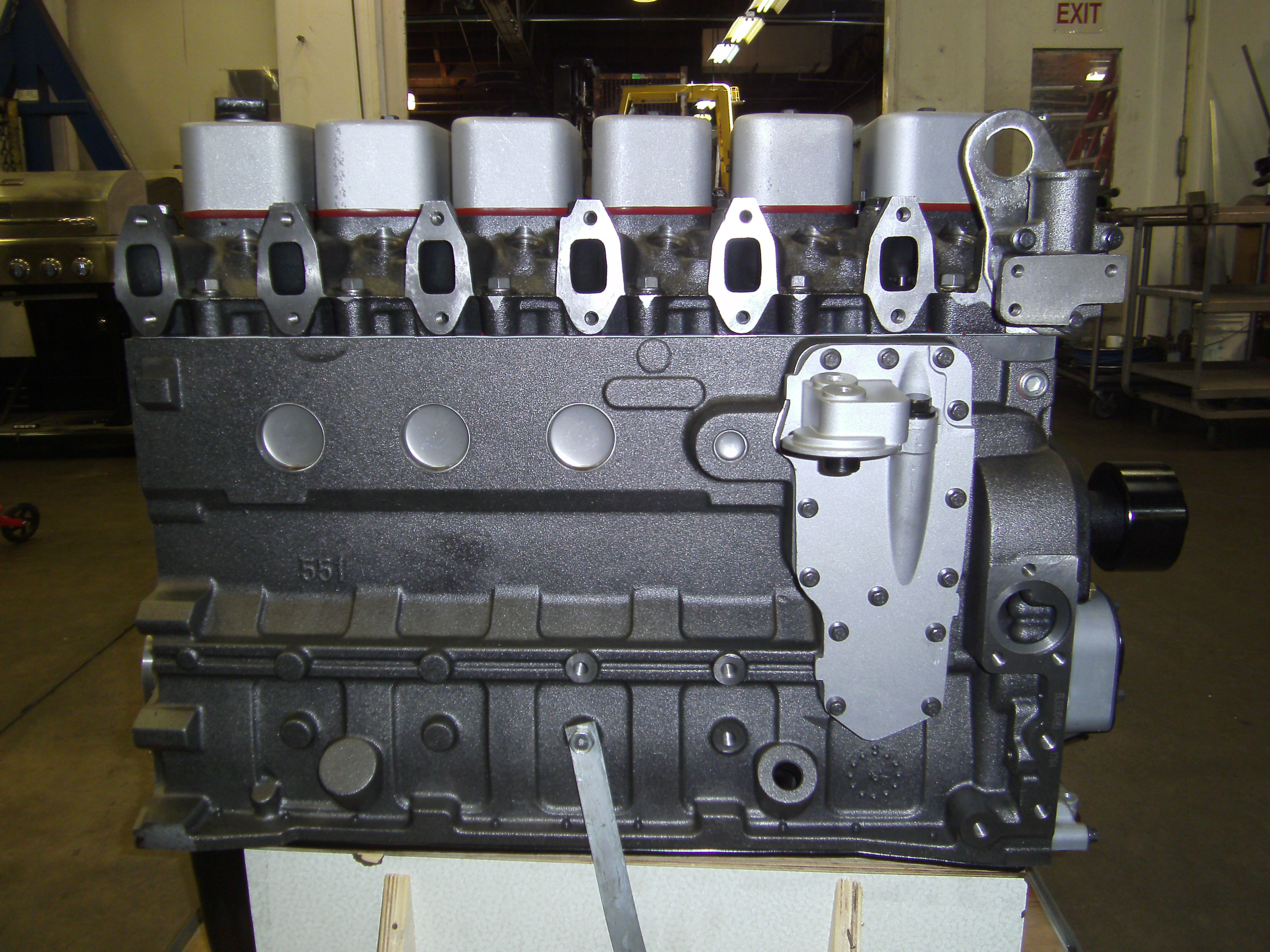 Young and Sons Cummins 6B Long Block Engine