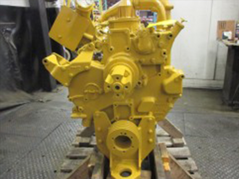 rebuilt cummins diesel engine